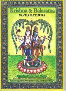 Krishna & Balaram Go to Mathura (Coloring Book)