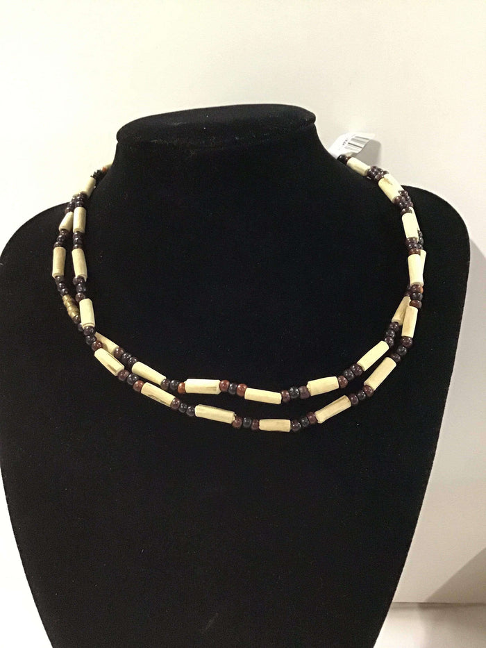Long Tulasi Neckbeads - Two Rounds