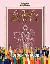 The Lord's Names Colouring Book