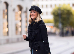 Marie Serneholt: Capri Coat & Carpi Fur Collar
