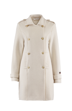 Busnel- Marina Coat- Off-white
