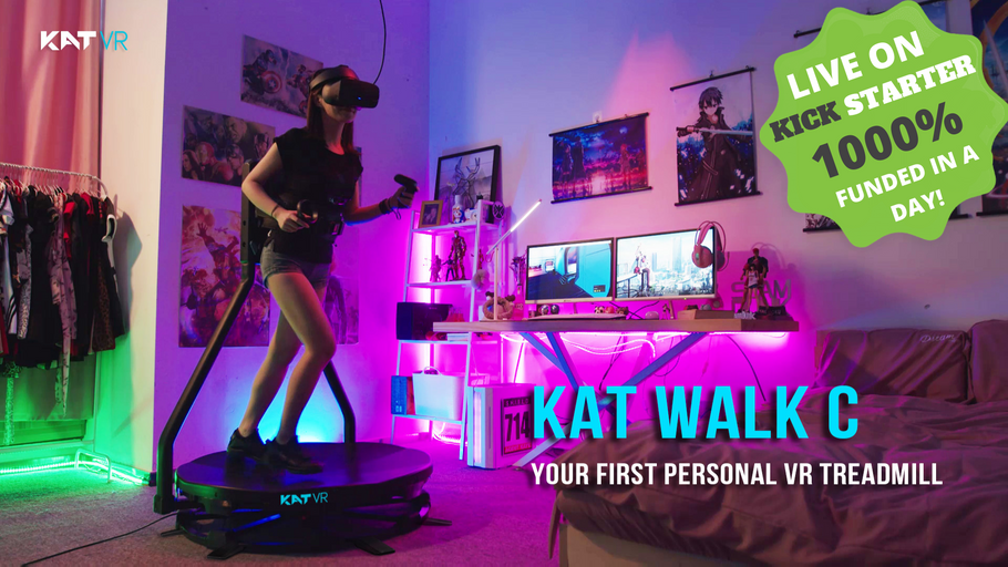 KAT Walk C Reached 1000% of funding within a DAY!