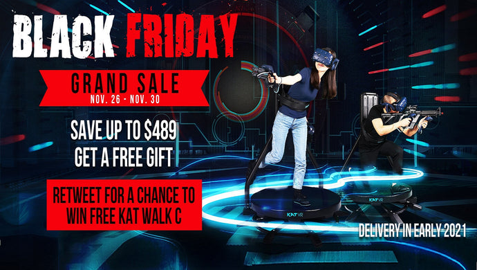 WIN A FREE KAT WALK C VR TREADMILL