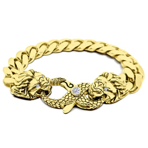 12mm Solid Miami Cuban Link Bracelet