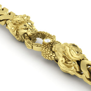 3mm Diamond Cut Franco Chain - 14k Yellow Gold