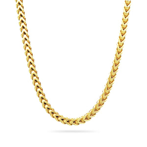 3mm Franco Chain, Gold