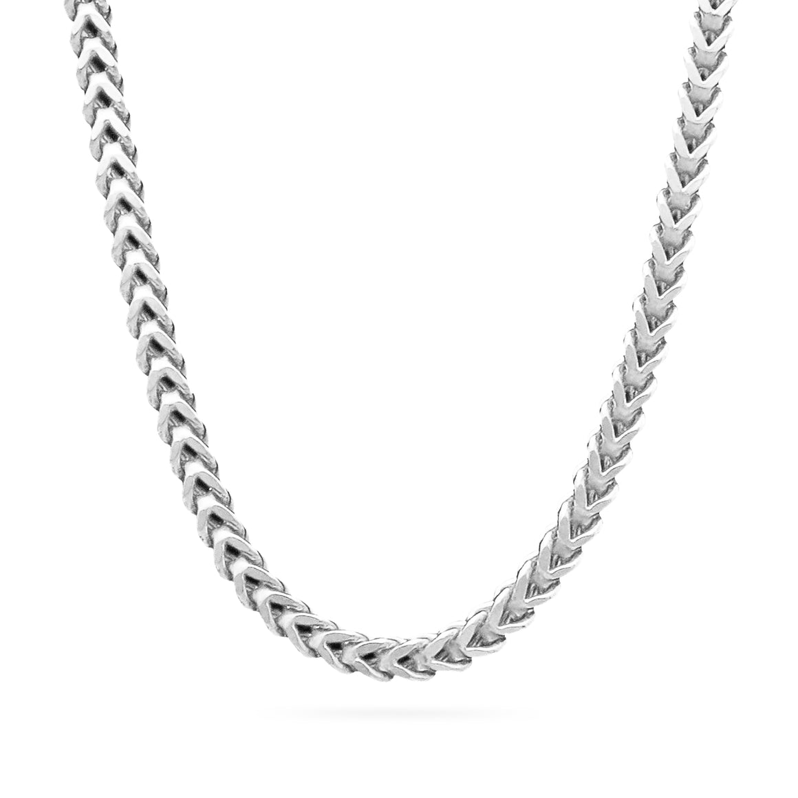4mm Franco Chain, Silver