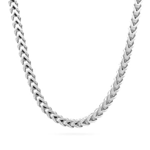 5mm Franco Chain, Silver