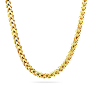 5mm Franco Chain, Gold