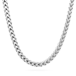 6mm Franco Chain, Silver