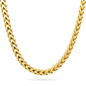 7mm Franco Chain, Gold