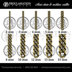 5mm Cuban Link Chain, Silver