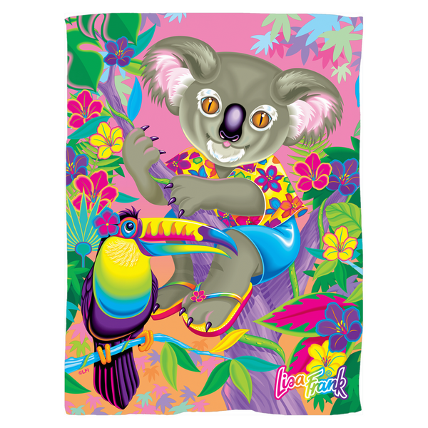 I ♥ KOALAS FLEECE BLANKET