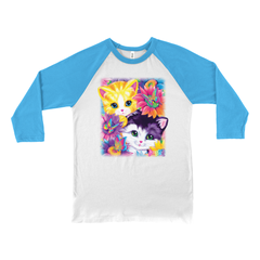 SUNFLOWER KITTENS™ BASEBALL TEE