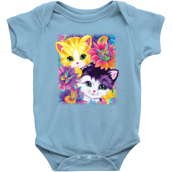 SUNFLOWER KITTENS™ BABY ONESIE