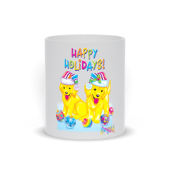 HAPPY HOLIDAYS WITH CASEY & CAYMUS™ MUG