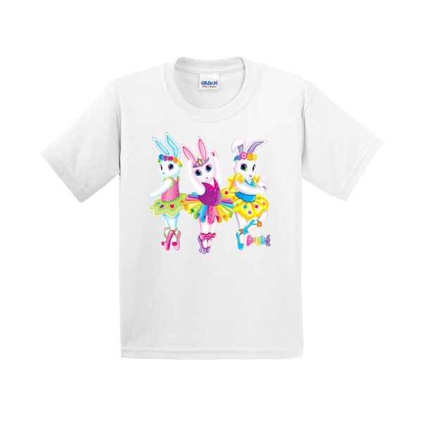 BALLERINA BUNNIES™ YOUTH TEE