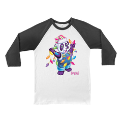 HOLIDAY PANDA PAINTER™ BASEBALL TEE