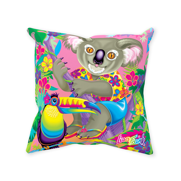 I ♥ KOALAS THROW PILLOW