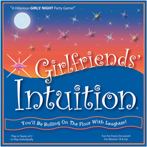 "Girlfriends' Intuition - ""The Perfect GIRLS' NIGHT IN PARTY GAME"" - Deluxe Edition - HUGE SALE! Buy NOW!"