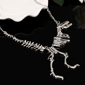 Vintage Dinosaur Necklace