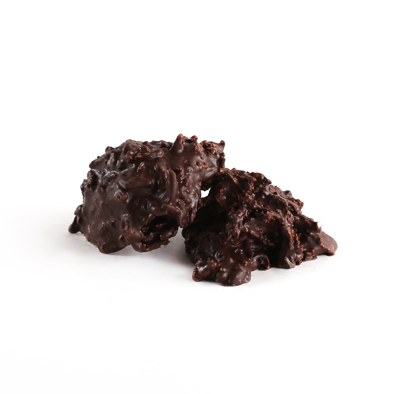 Product photo of dark chocolate coconut burr