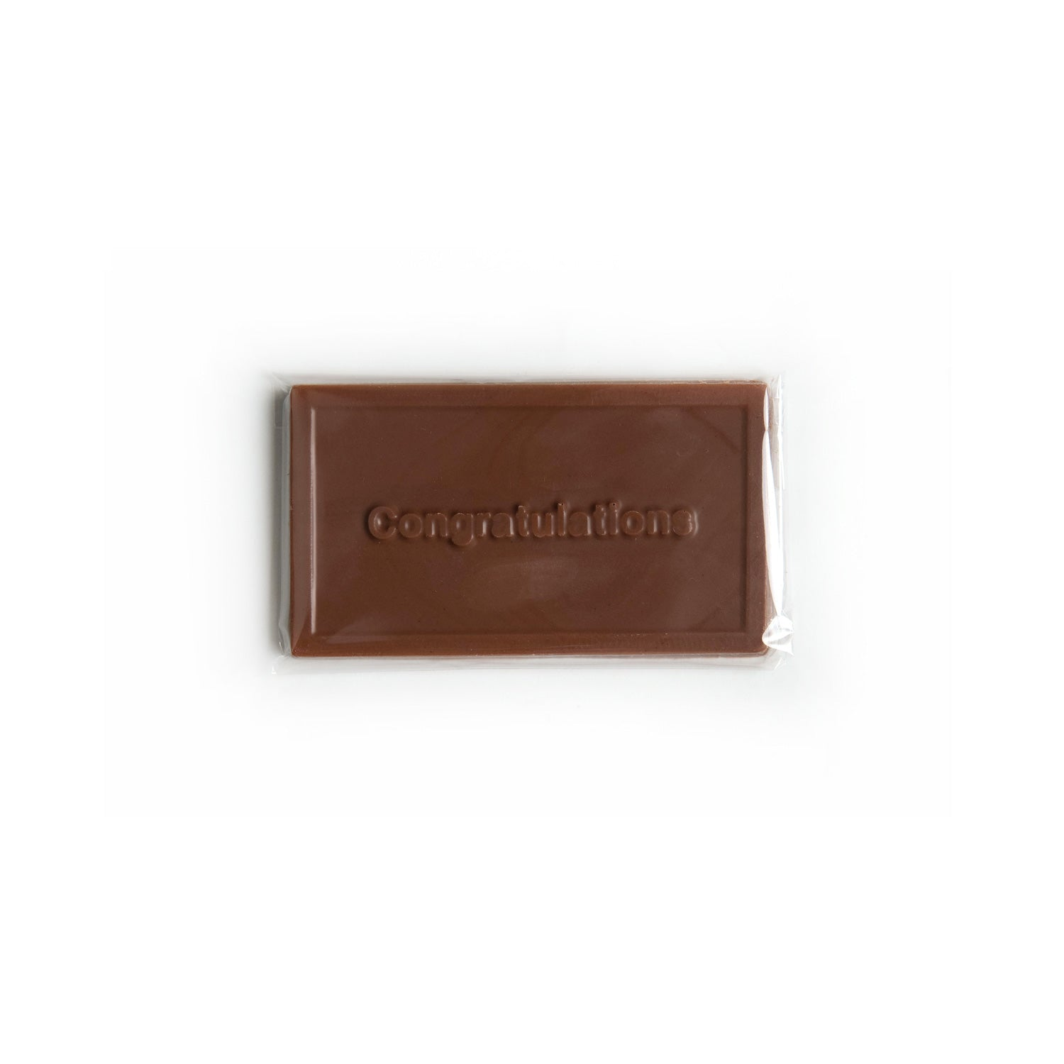 Product photo of milk chocolate congratulations bar
