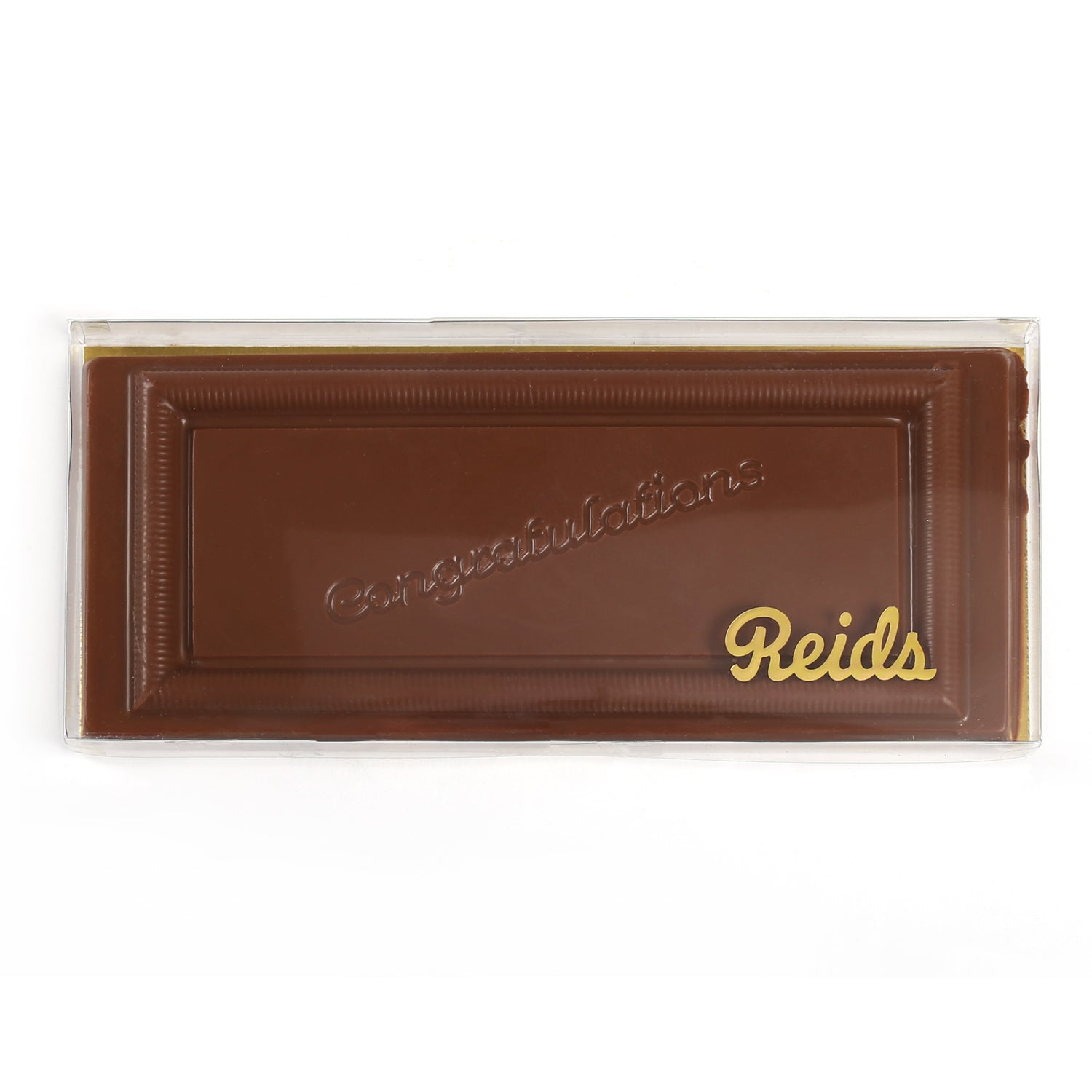 Product photo of milk chocolate large congratulations bar