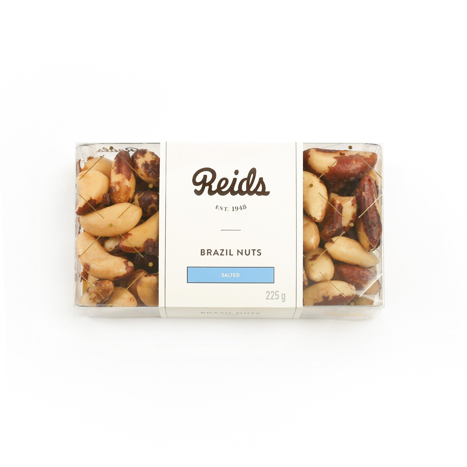 1/2 lb clear box of salted Brazil nuts