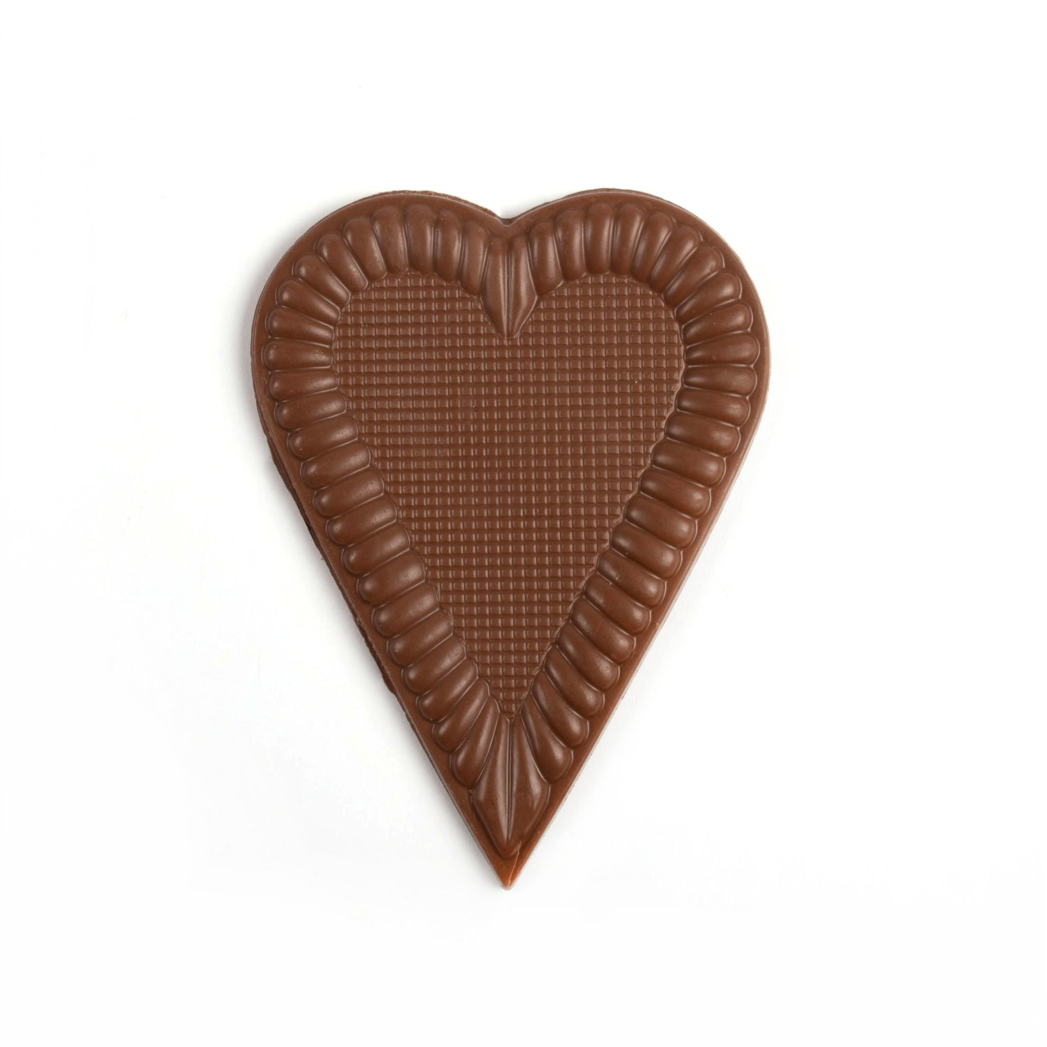 Image of large milk chocolate heart