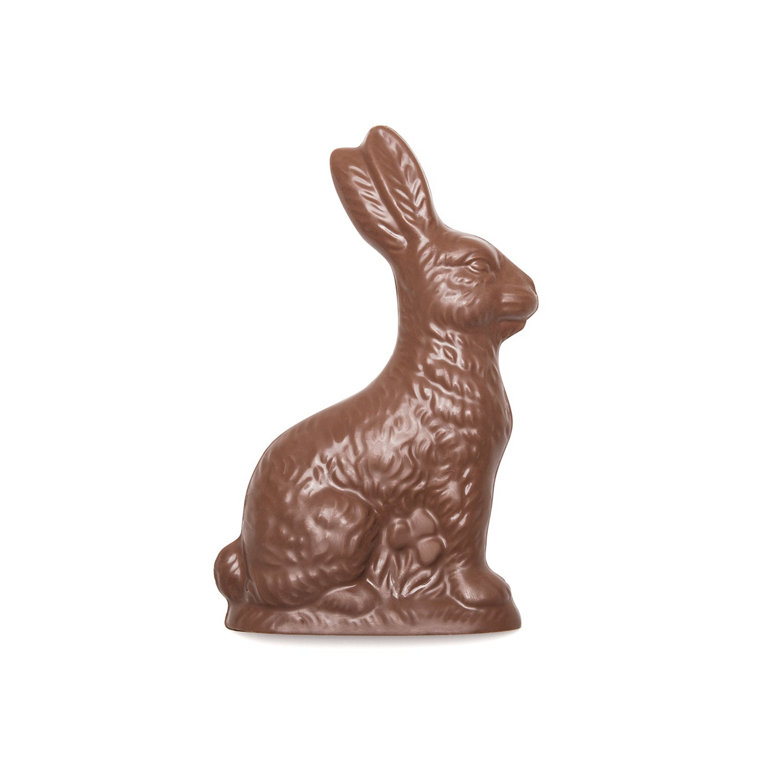 Chocolate molding of a rabbit