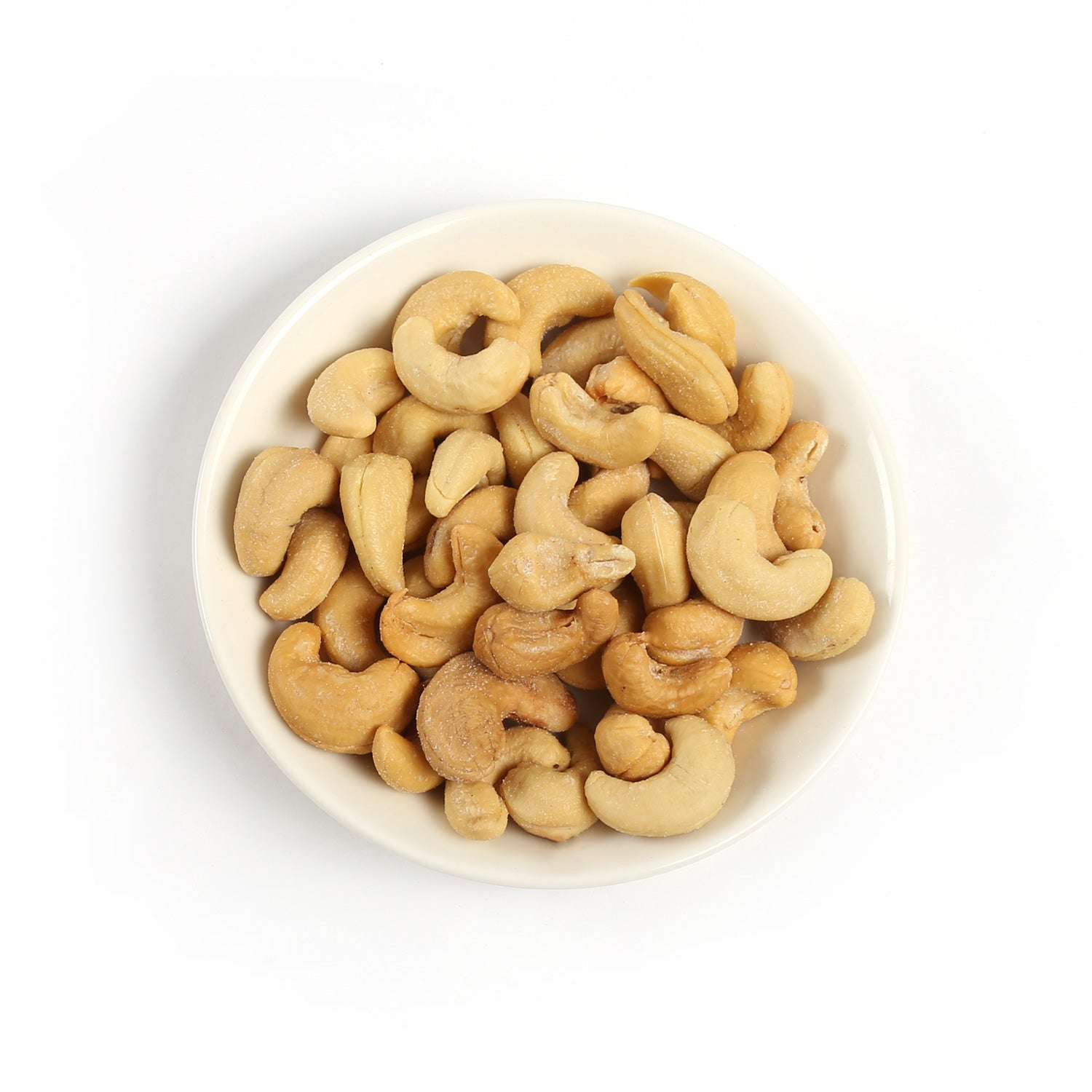 Product photo of salted cashews
