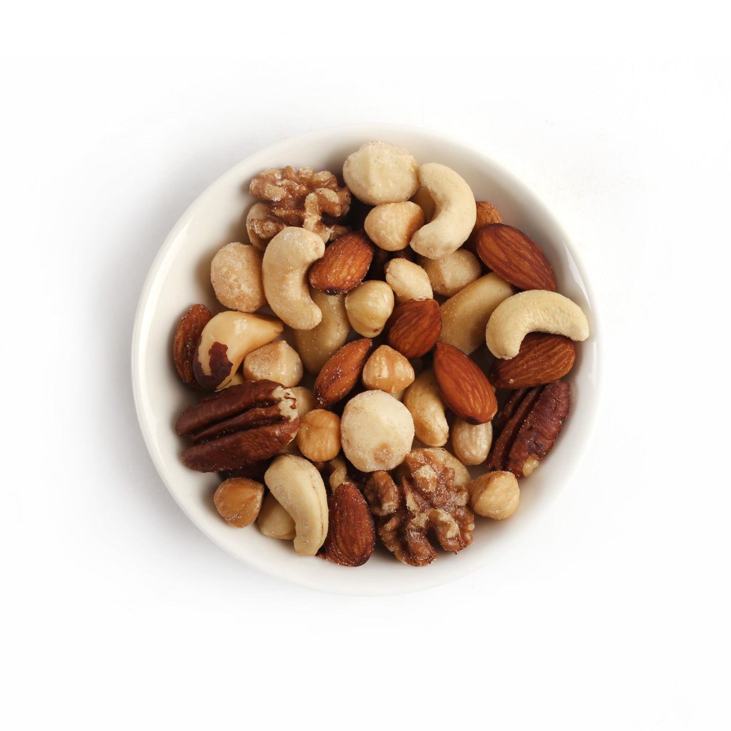 Product photo of salted fancy nuts