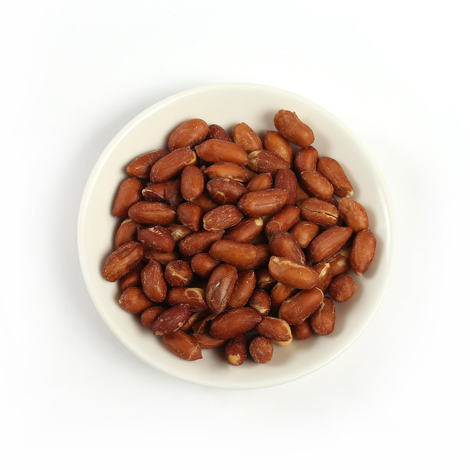 Product photo of red skinned peanuts