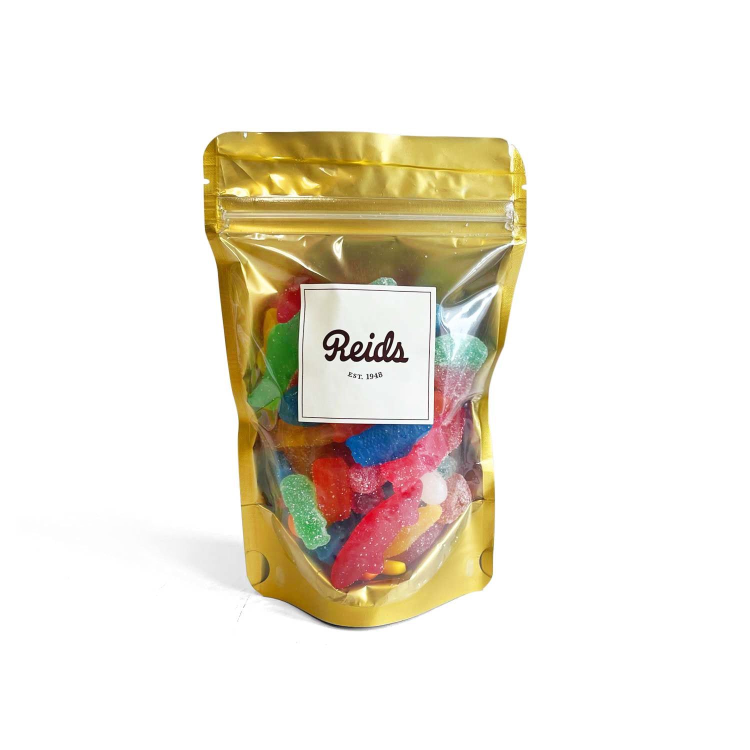 1/2 lb mix of sweet and sour candies.