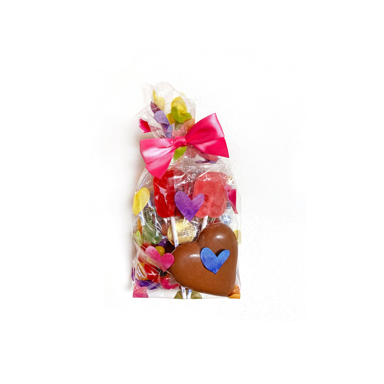 All candy and chocolate! The ultimate kids gift pack.