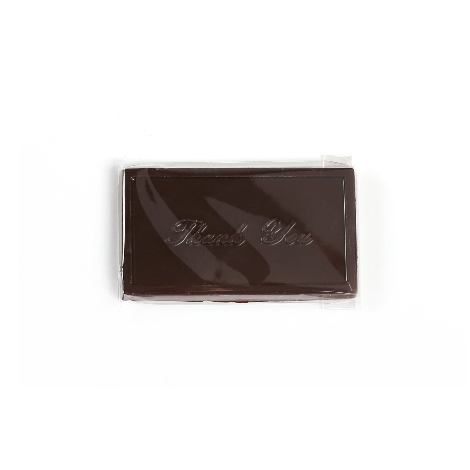 Product photo of dark chocolate thank you bar