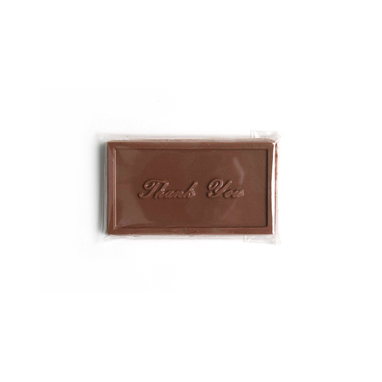 Product photo of milk chocolate thank you bar