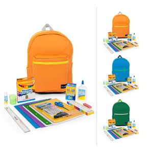"Case of 6: 1st-5th Student Kits in 16"" Standard Backpack"
