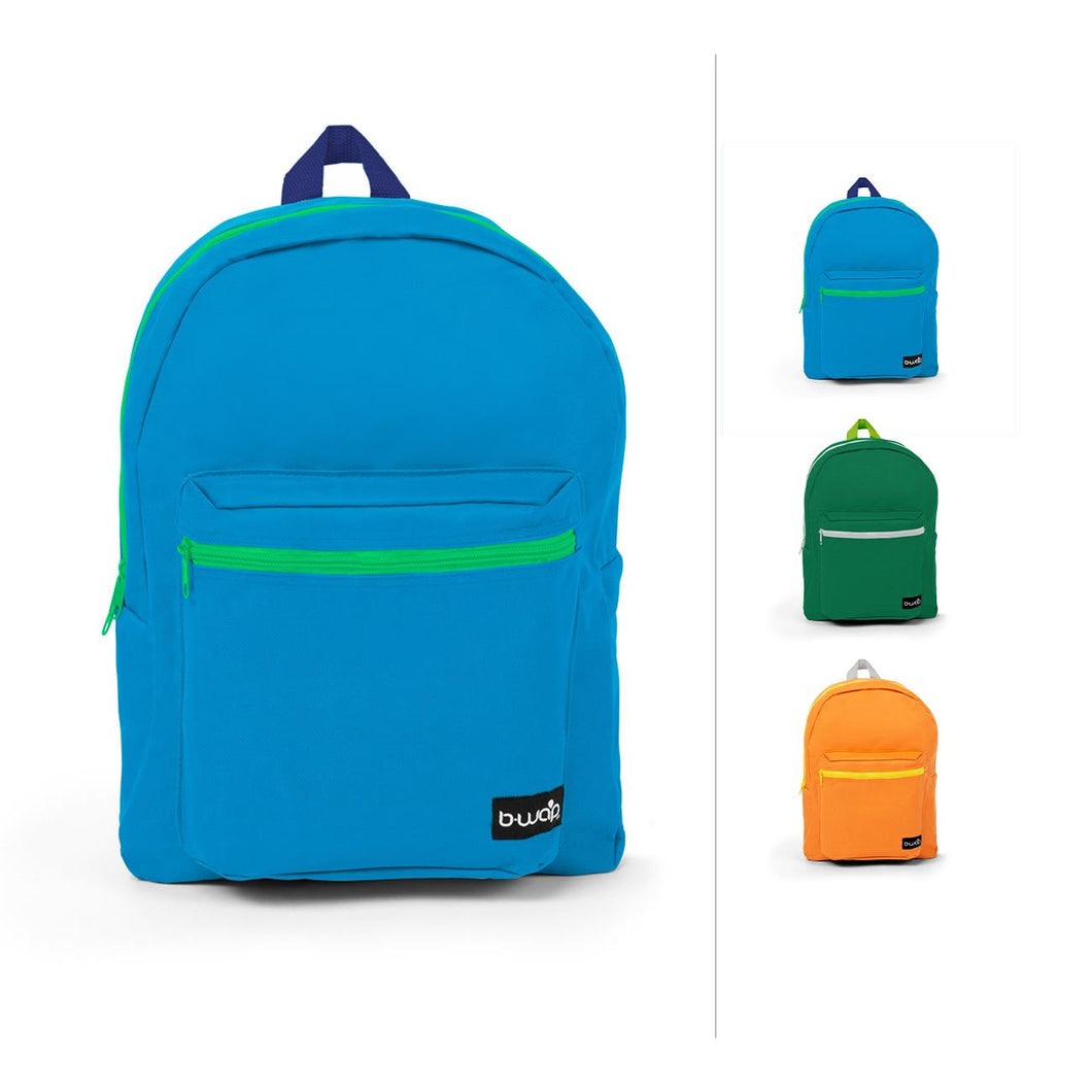 Combo 1 Wholesale 16 Inch Standard Bulk Backpacks