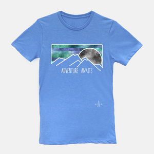 Adventure Awaits ONE sided T-shirt