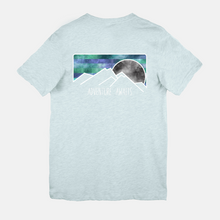 Load image into Gallery viewer, Adventure Awaits TWO sided T-shirt