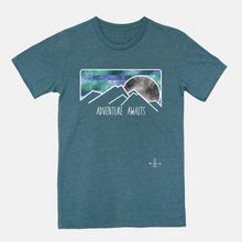 Load image into Gallery viewer, Adventure Awaits ONE sided T-shirt