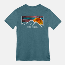 Load image into Gallery viewer, Chase Sunsets TWO sided T-shirt