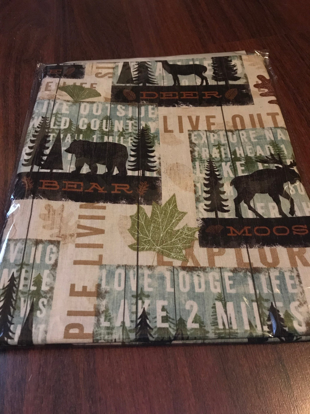 Woodsy bed cover