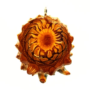Natural Knobcone Pinecone Pendant