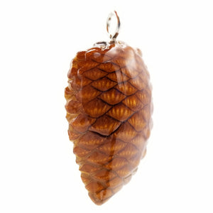 Small/Medium Natural Crosscut Knobcone Pendant