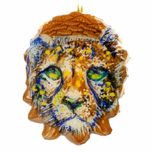Load image into Gallery viewer, Hand painted Cheetah Pendant