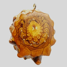 Load image into Gallery viewer, Extra Large 22Kt Gold Crystal Moon Pendant