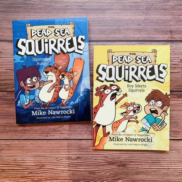Dead Sea Squirrels: Squirreled Away / Boy Meets Squirrels (Books 1 / 2)